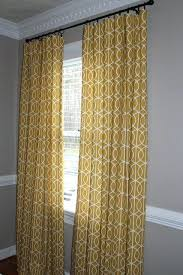Yellow Patterned Curtains Yellow Patterned Curtains Teawing Co