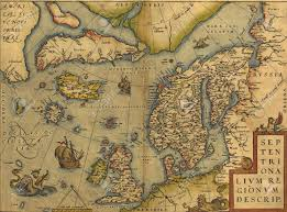 North Sea Map Antique Map Of The North Sea England Scandinavia And Iceland