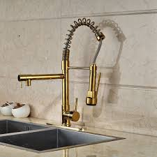 compare prices on led kitchen faucets online shopping buy low new led color changing kitchen faucet cover plate vessel sink mixer tap gold finish china