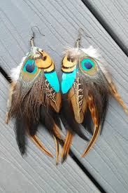 peacock feather earrings s best 25 feather earrings ideas on feather jewelry