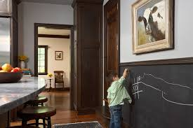 chalkboard kitchen wall ideas chalk ideas kitchen eclectic with stained wood chalkboard