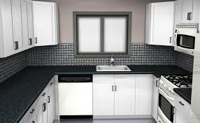 Discount Cabinets Kitchen Small U Shaped Kitchen Floor Plans White Countertop Design