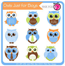 Owl Baby Shower Boy - owl baby shower of blue clipart clip art library