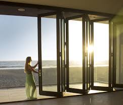Patio Doors Folding Contemporary Andersen Folding Patio Doors Door In Closed Position