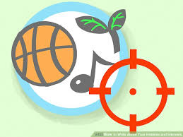 Best Hobbies And Interests For Resume by 3 Ways To Write About Your Hobbies And Interests Wikihow