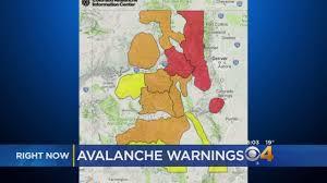 Colorado Springs Crime Map by Avalanche Warnings In Effect Across Colorado Cbs Denver
