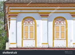 house windows design malaysia traditional windows facade public urban street stock photo