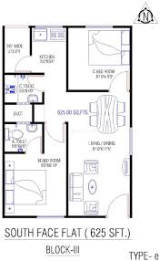 600 sq ft house plans south facing arts