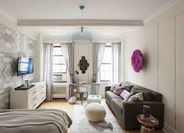 6 Stylish Manhattan One Bedrooms - modern one bedroom apartments designs hupehome