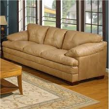 Primo Leather Sofa Primo International Mayfair Casual 3 Seat Leather Sofa With Accent