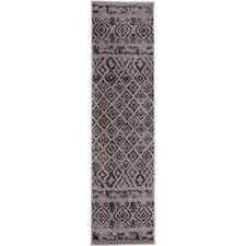 Black Chevron Area Rug Runner Chevron Area Rugs Rugs The Home Depot