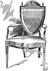 Clipart Armchair Hepplewhite Armchair 1 Clipart Etc