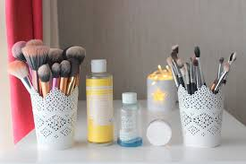 clean series cleaning makeup brushes lovely girlie bits