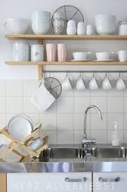 Ikea Kitchen Shelves Creative Collection Group Link Party Blue Dishes Shelves And