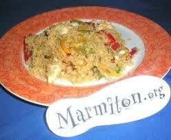 marmiton org recettes cuisine quinoa au poulet recette de quinoa au poulet marmiton