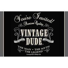 amazon com creative converting vintage dude 8 count 50th birthday