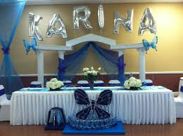 quinceanera decoration ideas for tables my centerpieces for a quinceañera party using white hydrangeas and