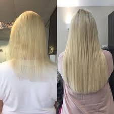 goldilocks hair extensions and mini micro ring hair extensions in byfleet surrey