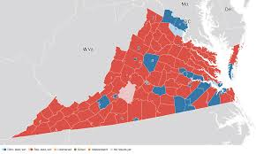 Maps Virginia by Virginia Election Results 2016 Live Maps Polling Analysis