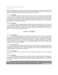 bylaws templates sample bylaws template 6 free documents in pdf