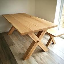 X Leg Dining Table Oak Beam Dining Table U2013 Zagons Co