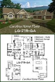 house plans with attached apartment 49 best homes with attached guest suites images on pinterest