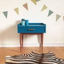 chevet chambre chambre gris et vert 13 meuble table de chevet vintage bleu