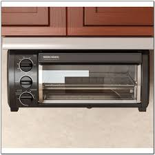 Under Cabinet 4 Slice Toaster by Under Cabinet Toaster Oven Stainless Steel Bar Cabinet