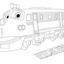 action chugger going to town in chuggington coloring page action