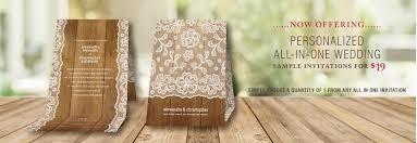 exclusive all in one wedding invitations einvite einvite com