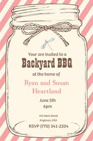 jar invitations after the wedding party invitations or elopement party invitations