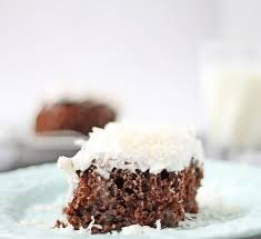 chocolate coconut tres leche cake lightened up cooking for keeps