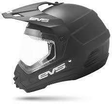 thh motocross helmet evs t5 venture dual sport helmet solid revzilla