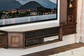 Entertainment Center Credenza Transitional Wall Mount Floating Tv Stand Entertainment Center