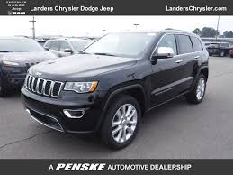 2017 jeep altitude black new jeep grand cherokee at landers serving little rock benton