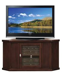 Wall Tv Stands Corner Amazon Com Leick Home Riley Holliday 46