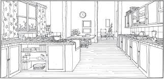 sketch room kitchen fresh sketch of kitchen room design ideas luxury and