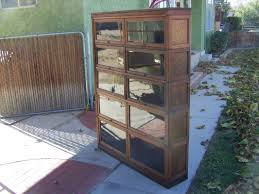 Stickley Bookcase For Sale 5 Section Lawyer Bookcase For Sale Antique Barrister Lawyer