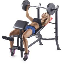 Marcy Bench Press Set Bench Workout Bench And Weight Set Marcy Diamond Weight Bench W