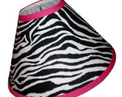 zebra lamp etsy