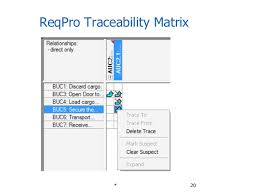 Requirements Traceability Matrix Template Excel Requirements Management And Traceability For Iiba