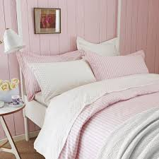 light pink and white bedding pink and white striped bedding sanderson tiger stripe bedli on