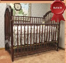 metal hardware foot release single drop side crib kit