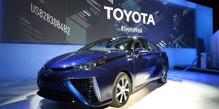 toyota car recall crisis toyota starts production of mirai fuel cell car on crisis