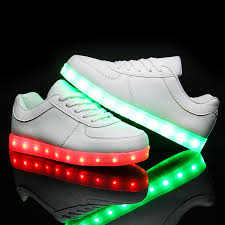 led light up shoes for boys 2016 fashion led shoes for children lace luminous sneakers boys