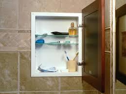 recessed built in bathroom mirror cabinet medium size of bathrooms