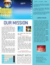 free newsletter templates in microsoft word adobe illustrator and