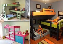 Build A Bunk Bed Diy Triple Bunk Bed Home Art Decor 38709