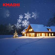kmashi 16 pattern slides projector with blue laser
