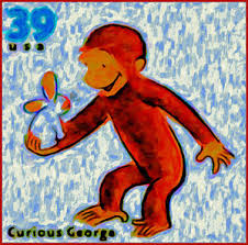 Curious George Curtains Curious George Art Fine Art America